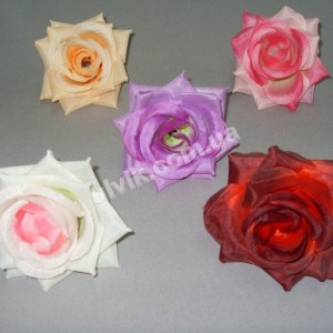Роза раскрытая ГR 5 цветок искусственный