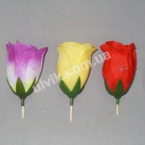 Роза бутон средняя ГВ-14(100) цветок искусственный