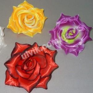 Роза большая атлас ГR 20 цветок искусственный