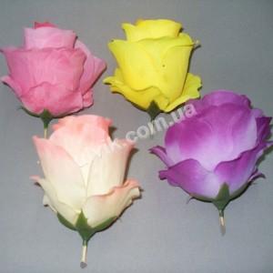 Роза бутон гигант ГВ-24 цветок искусственный
