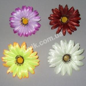Ромашка атлас ГF 41 цветок искусственный