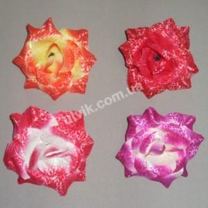 Роза бархат средняя ГТ-69/3 цветок искусственный