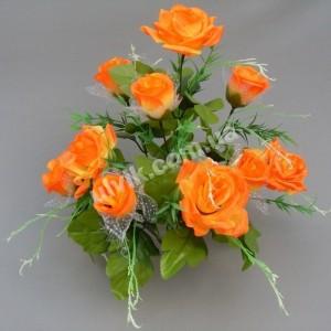 Роза усик М 31/10 букет искусственный