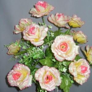 Роза виноград  М 50/12 букет искусственный