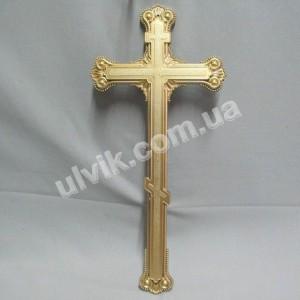 Крест без распятия Кр Ф-04 покрашеный пластик
