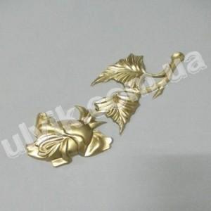 Роза декоративная Ф 45 покрашеный пластик