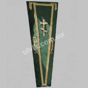 Гроб 2  Штора-зеленый