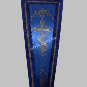 Гроб 9 Золотой крест атлас
