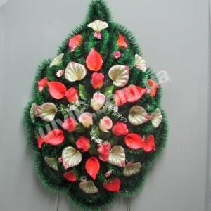 Пузырь роза  ВУ 44 венок украшенный