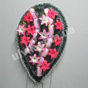 Слёзка лилия ВУ 46 венок украшенный