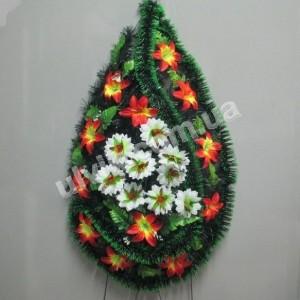 Царичанка 1м лилия ВУ 23/3 венок украшенный