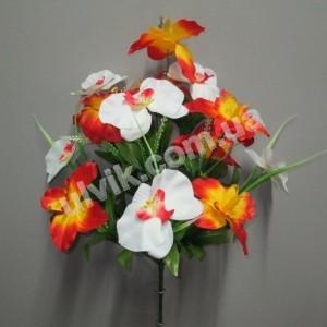 Орхидея микс 241 букет искусственный