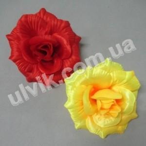 Роза крупная атлас Rr 69k цветок искусственный