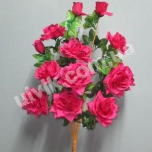 Роза дерево И 792 букет искусственный
