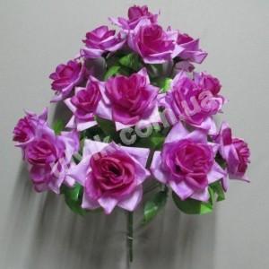 Роза раскрытая И 844 букет искусственный