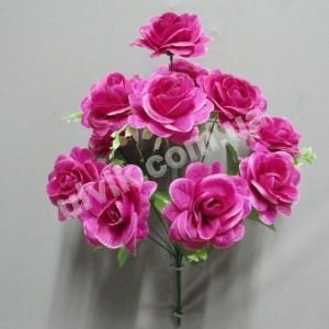 Роза камелия И 846 букет искусственный