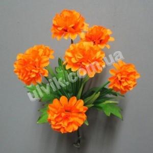 Хризантема с подкустиком 163 букет искусственный