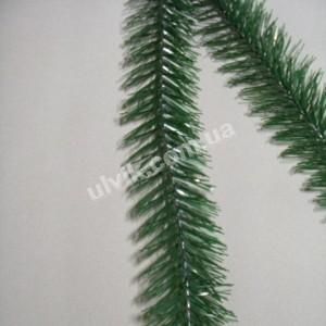 Косая зелёная *7* ёлка искусственная