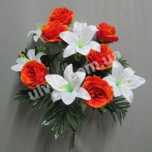 Роза лилия 771 букет искусственный