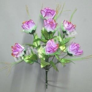 Роза резная М 17/7 букет искусственный