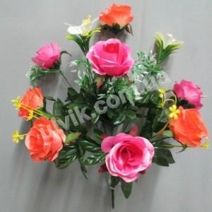 Роза Мелодия 131 букет искусственный