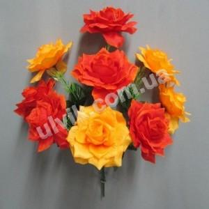 Куст розы 207 букет искусственный