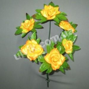 Роза острая И 1098 букет искусственный