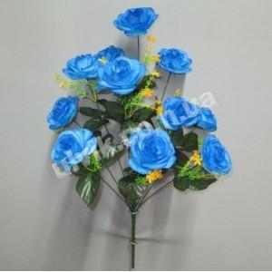 Роза камелия И 1415 букет искусственный
