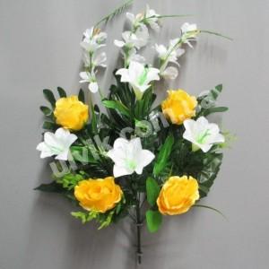 Роза лилия гладиолус ML 267 букет искусственный