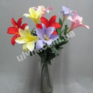 Лилия на ножке 1-ка 700  цветок искусственный