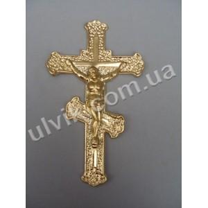 Крест 1,08 узорчатый с распятием