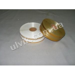 Золотое тиснение ЛС1 3/50 лента декоративная