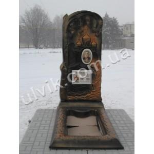 Бетонный памятник - Береза