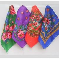 Полушерсть с люрексом Од 13 платок головной