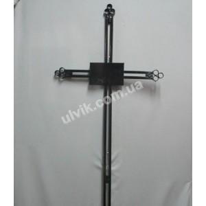 Крест 1 металлический