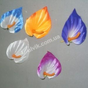 Калла малая ГF 27/3 цветок искусственный