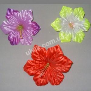 Мальва атлас ШР 335 цветок искусственный