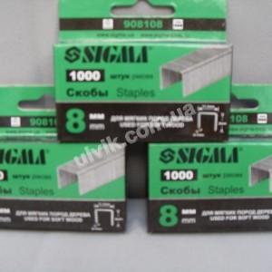 Скобы SIGMA СТ 3 для пистолета