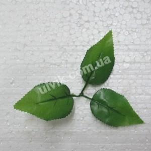 Роза 3/L5 лист искусственный