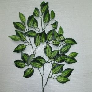 Берёза салатная С 145 ветка искусственная
