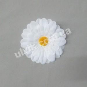 Гербера белая 176 цветок искусственный