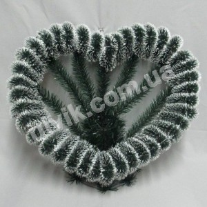 Сердце К 59 корзина ритуальная
