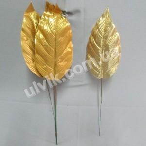 Капля золото Л-т 43 лист искусственный