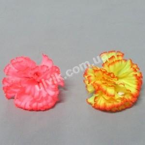 Гвоздика шелк Гв К 1 цветок искусственный